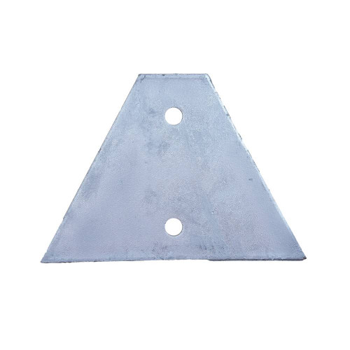 Single Gusset Base Plate Hot Dipped Galvanised (Each)