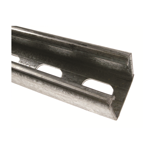Shallow Slotted Channel 41mm x 21mm 3m (3m lgth)