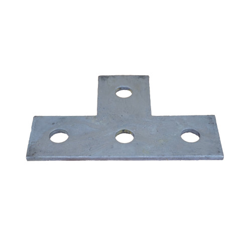 4 Hole Flat Tee Plate Fitting (Each)