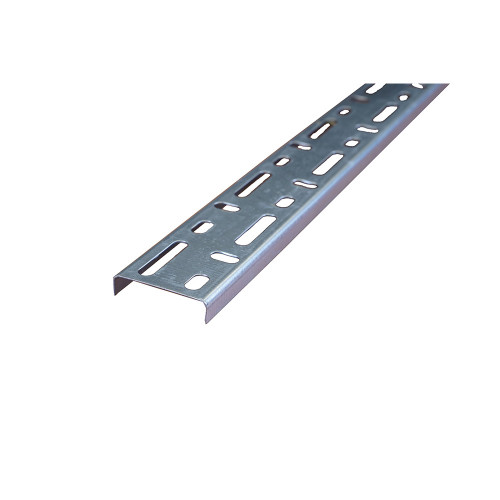 METSEC CTSL12/0050PG3 50mm Standard Duty Steel Cable Tray 10mm Return Edge Pre Galv (3m lgth)