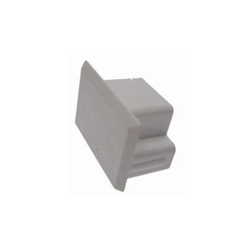 Univolt 40mm x 25mm PVC Mini Trunking End Cap (Each)