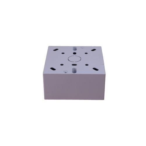Univolt SFB1/44 | Univolt 44mm Single Gang PVC Back Box C/W 20mm Knockout LSF