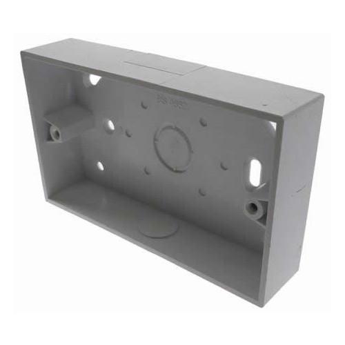 CMW Ltd SFB2/32 | Univolt 32mm Double Gang Back Box LSF