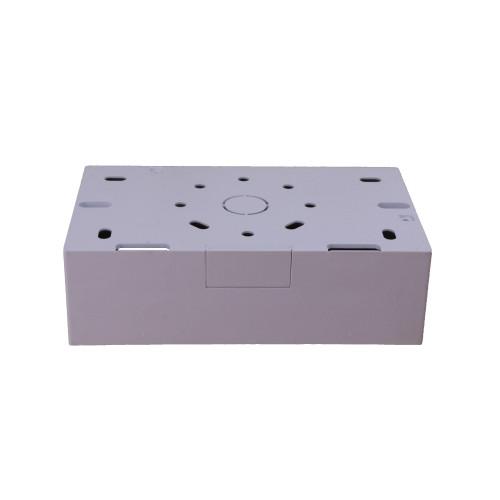 Univolt SFB2/44 | Univolt 44mm Double Gang PVC Back Box C/W 20mm Knockout LSF