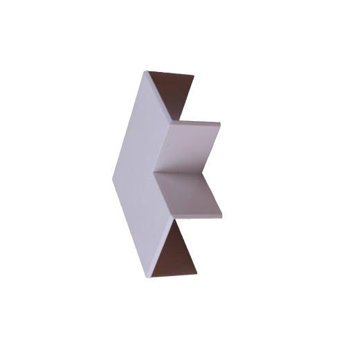 Dietzel Univolt SFW25/40   Dietzel Univolt 40mm x 25mm PVC Mini Trunking Flat Angle