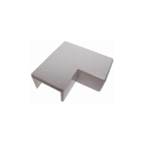 Univolt 60mm x 40mm PVC Mini Trunking Flat Angle (Each)