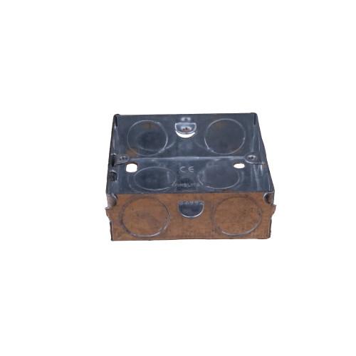 CMW Ltd EWS2 | EWS2 - 25mm Deep Single Gang Metal Box