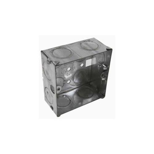 CMW Ltd  | 35mm Deep Single Gang Metal Box
