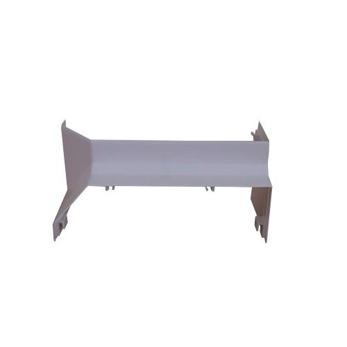 Univolt SIE50/170   Univolt Starline 3 Compartment Skirting Trunking, White,  Internal Angle