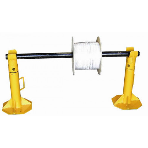 SEB International SJ3 & DS4 | 3 Tonne Cable Drum Jacks with 1200mm Spindle (Per Set)