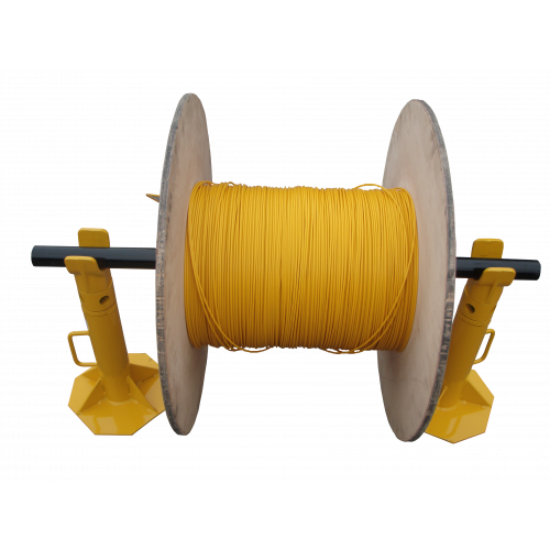 6 Tonne Cable Drum Jacks with 1800mm Spindle (Per Set)