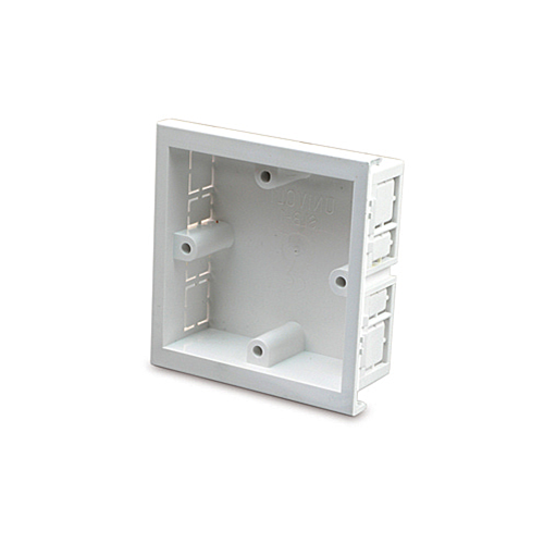 SLB1  | Univolt Single Gang Accessory Box