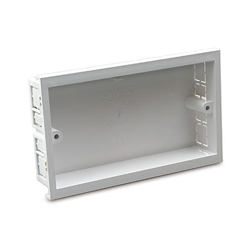 SLB2  | Univolt Double Gang Accessory Box