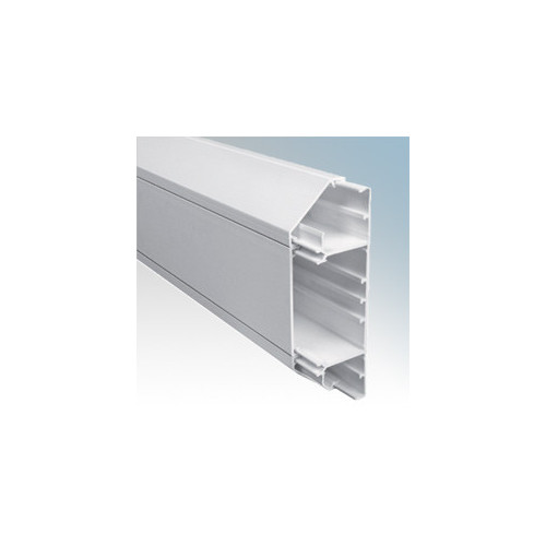 Univolt SLC50/170 | Univolt Starline 3 Compartment Chamfered Dado Trunking (3m lgth)