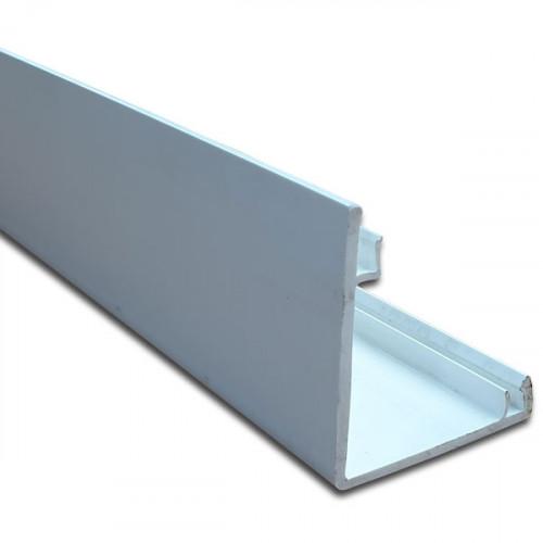 Univolt Starline 3 Compartment Square Dado Lid 3 m (3m lgth)