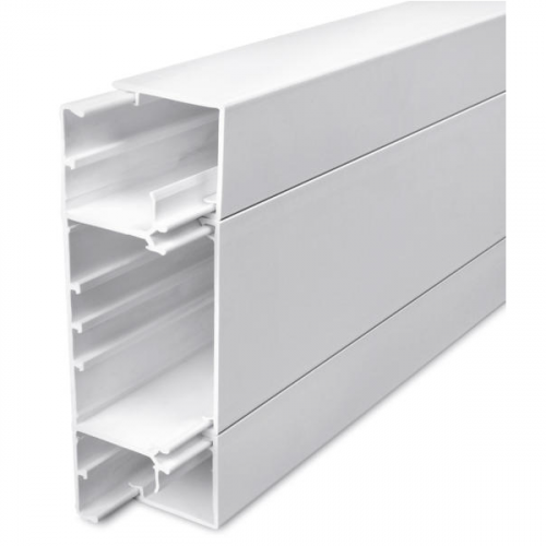 Univolt SLQ50/170 | Univolt Starline 3 Compartment Square Trunking (3m lgth)