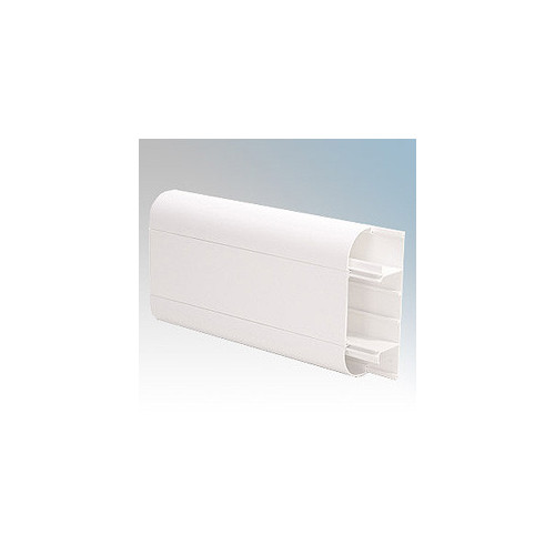 Univolt SLR50/170 | Univolt Starline 3 Compartment Round Edge Dado Trunking (3m lgth)