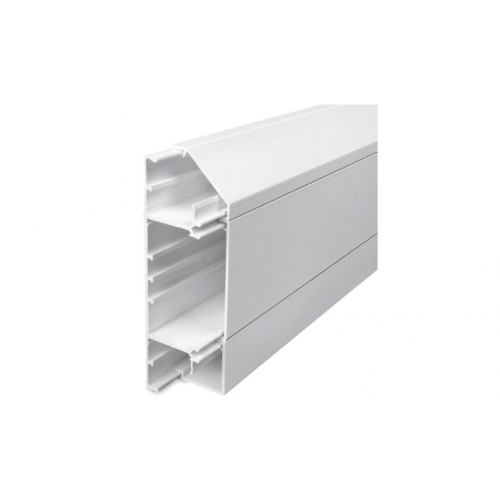 Univolt SLS50/170 | Univolt Starline 3 Compartment Skirting Trunking (3m lgth)