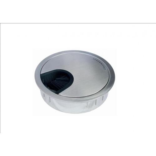 DGSS80 CMW Ltd, Desk Cable Management | Stainless Steel 80mm Desk Grommet