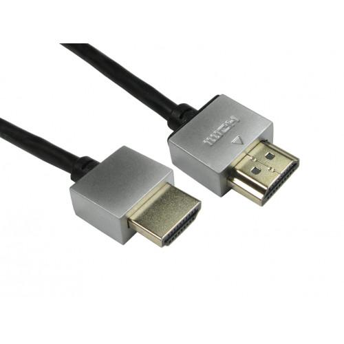 CMW Ltd    2.0m Black Super Soft Slim HDMI Lead