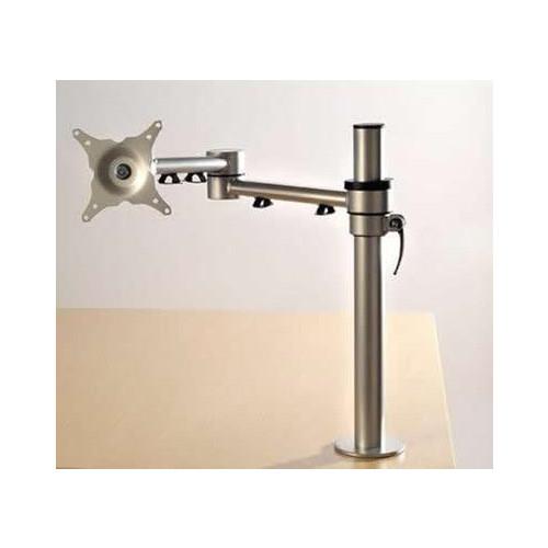 CMW Ltd    Algar Silver single Screen Monitor Arm