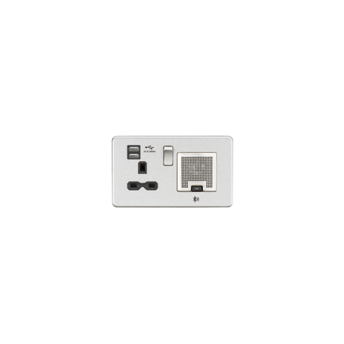 1 x 13 amp Socket with 4 x USB Sockets (Each)