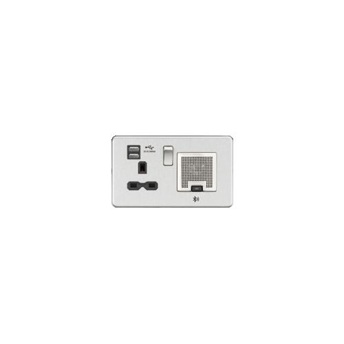 1 x 13 amp Socket with 4 x USB Sockets (Each)
