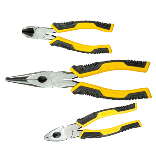 Set of 3 Pliers Long, Side & Combi (Each)