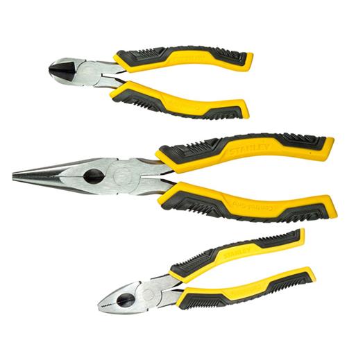 CMW Ltd STHT0-75094 | Set of 3 Pliers Long, Side & Combi