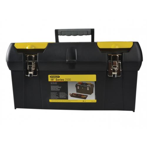 "1-92-066  | Stanley 19"" Plastic Tool Box"