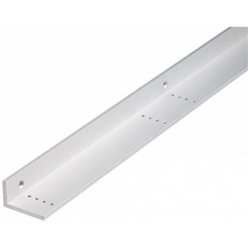 1 metre fully adjustable L bracket. Silver anodised aluminium finish. For use with transom housing