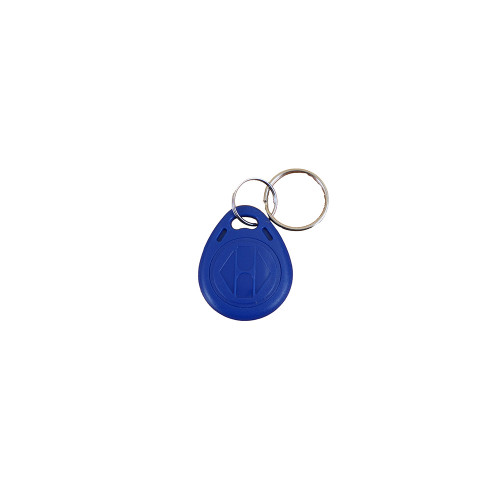 EM format keyfob. Blue. read/write capability. Single fob supplied. Also available in red and grey.