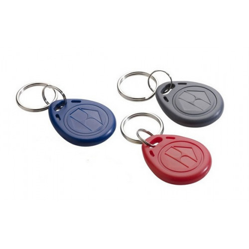 EM format keyfob. Red. read/write capability. Single fob supplied. Also available in blue and grey.