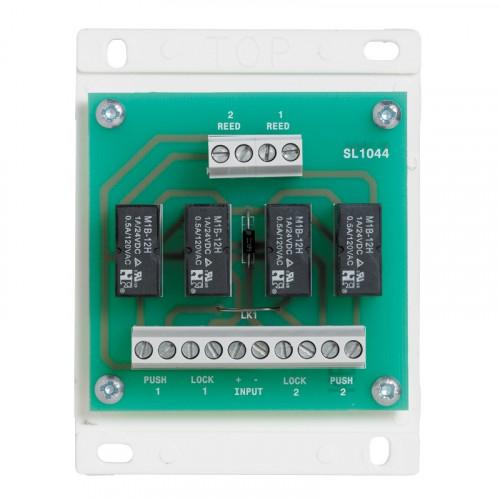 2 door interlock board. 12/24Vdc input. Board only