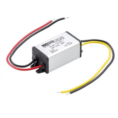 Voltage reducing unit. Reduces voltage from up to 28vDC down to 12vDC
