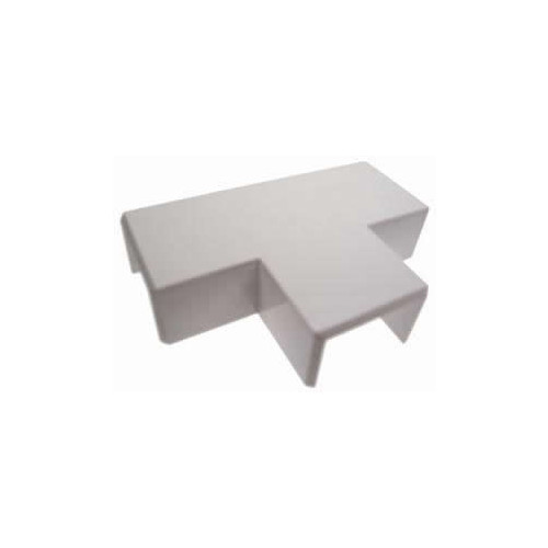 Univolt 60mm x 40mm PVC Mini Trunking Flat Tee (Each)