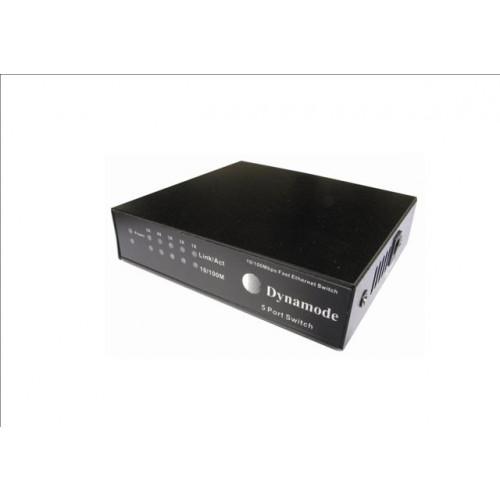 SW50010M Desk Cable Management   Desktop 5 Port Switch 10/100