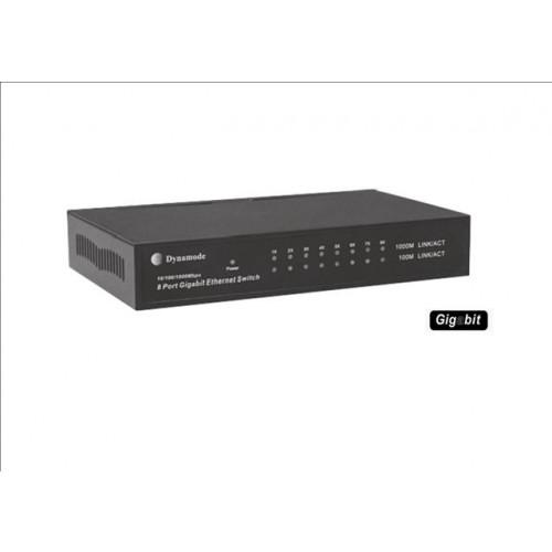 LMS DATA SWG80010M   Desktop 8 Port Gigabit Switch 10/100/1000