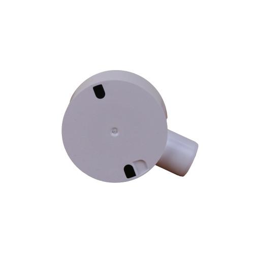 Dietzel Univolt Plastic Conduit Fittings CB20/1WS   LSF 20mm White Terminal Box