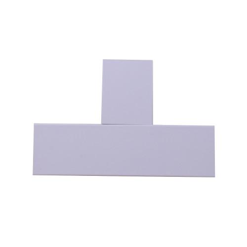 Marshall-Tufflex  TFTS100/50WH | Marshall Tufflex 100 x 50mm PVC Maxi Trunking White Flat Tee
