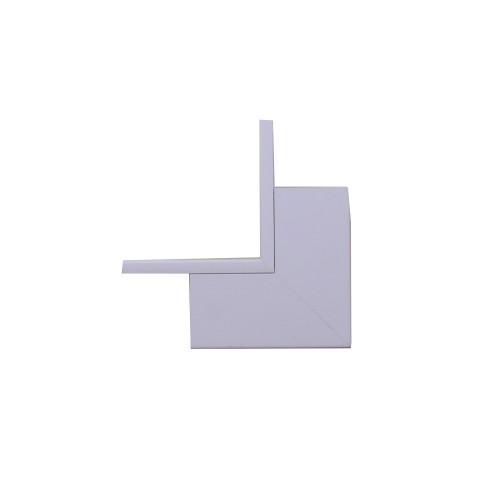 Marshall-Tufflex  TIAS100WH | Marshall Tufflex 100 x 100mm PVC Maxi Trunking White Internal Angle