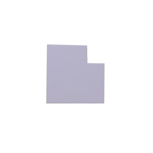 Marshall-Tufflex  TIAS50CWH | Marshall Tufflex 50 x 50mm PVC Maxi Trunking White Clip-on Internal Angle