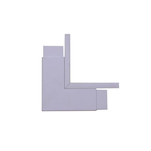 Marshall-Tufflex  TIAS75WH | Marshall Tufflex 75 x 75mm PVC Maxi Trunking White Internal Angle