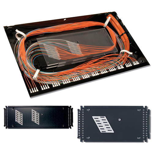 Siemon TRAY-3 Standard Splice Tray for up to 24 Fusion Splices with Sleeve Protection. (For use with RIC3 & FCP3)
