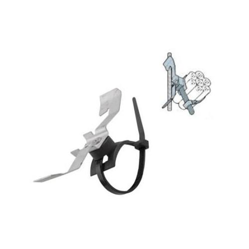 CMW Ltd  | Utility Tie Clip with Tie 3-7mm Flange