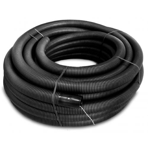 50mm Black Twin Walled Underground Corrugated Flexible Conduit 40mm I/D (50m Reel)