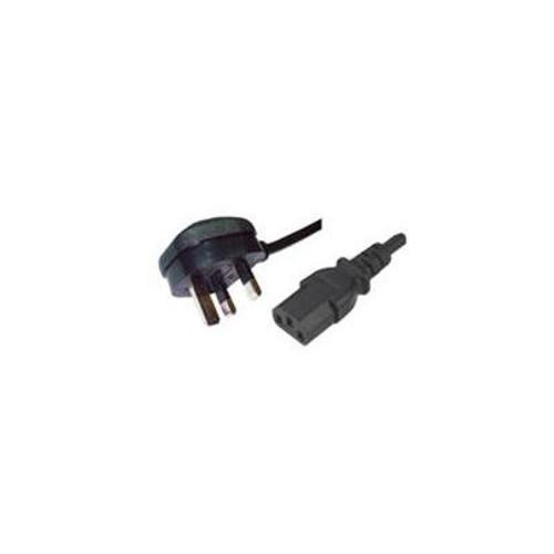 CMW Ltd  | 2m Uk Plug to Female C13 Lead