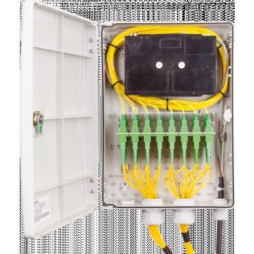 Micos Telecom URM LH 48C M Wall-mounted optical distribution box