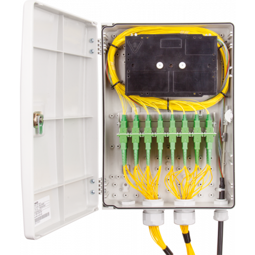 Micos Telecom 852L.30/0000F | Micos Telecom URM LH 48C M Wall-mounted optical distribution box