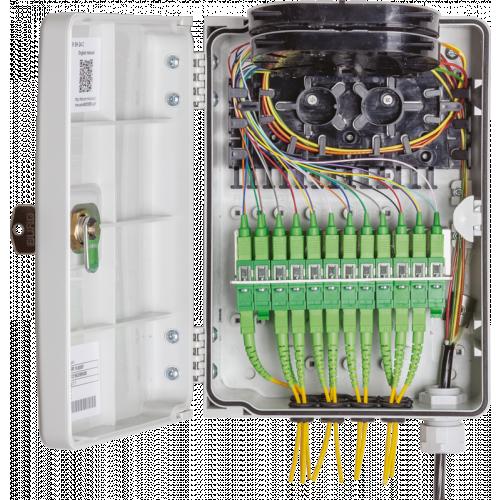 Micos Telecom URM SH 24C M Wall-mounted optical distribution box